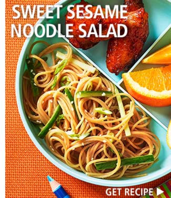 Sweet Sesame Noodle Salad > Get Recipe